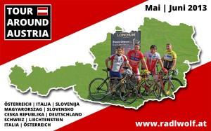 Radlwolf & Freunde Österreichumrundung 2013
